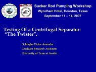 """Testing Of a Centrifugal Separator: """"The Twister"""". - ALRDC"""