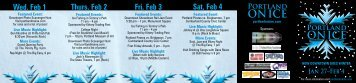 sat, Feb 4 Fri, Feb 3 thurs, Feb 2 wed, Feb 1 - Portland's Downtown ...