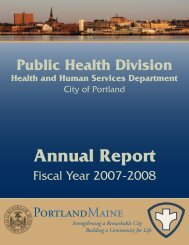 Annual Report - City of Portland