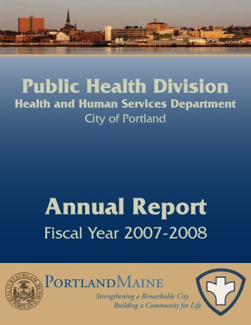 Annual Report - City of Portland