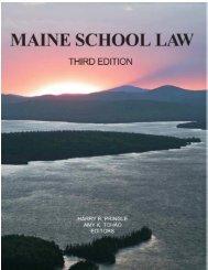 Maine School Law Excerpt click here - City of Portland