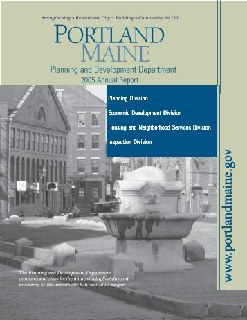 Planning & Development - City of Portland