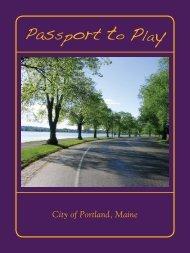 Passport to Play - City of Portland