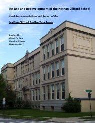 Final Report - City of Portland