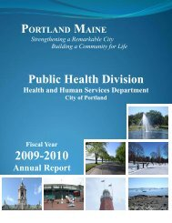 the 2009-2010 Annual Report - City of Portland