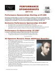 2011-12 SPONSORSHIP PACKAGES - Portland Opera - Page 4