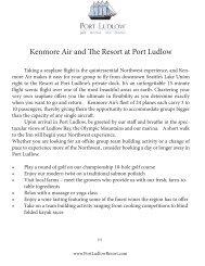 Seaplane - Port Ludlow Resort