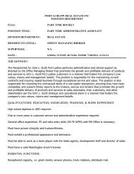 part time administrative assistant - Port Ludlow Resort