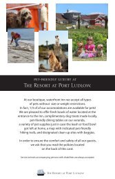 The Resort at Port Ludlow. - Port Ludlow Resort