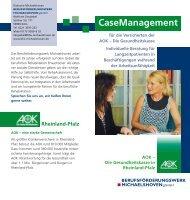 Casemanagement Rheinland-Pfalz - Diakonie Michaelshoven