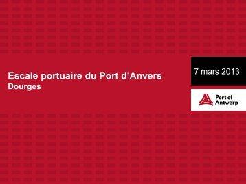 Présentation supply chain Filetype : PDF Filesize - Port of Antwerp