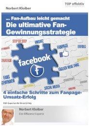 Wie Sie mit 4 einfachen Schritten eine erfolgreiche Fanpage bei Facebook aufbauen