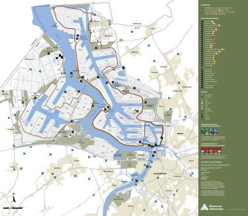 Fietskaart Haven Van Antwerpen Filetype Pdf Port Of Antwerp