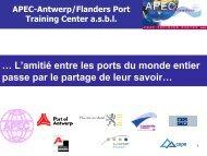 APEC presentation - Port of Antwerp
