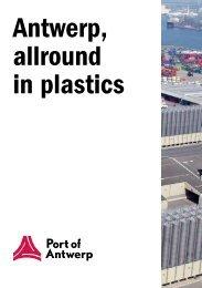 Read more in the allround plastics brochure. - Port of Antwerp