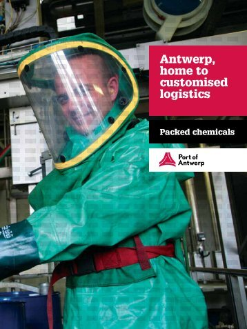 Read more in the packed chemicals brochure - Port of Antwerp