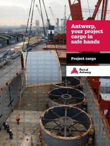 Antwerp, your project cargo in safe hands - Port of Antwerp