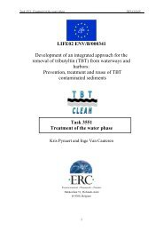 Draft report on treatment of the water phase by photo- and chemical ...