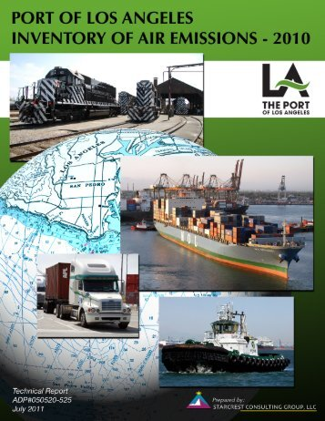 2010 Air Emissions Inventory Report - The Port of Los Angeles