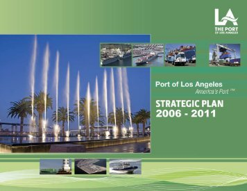 Strategic Plan 2008 - The Port of Los Angeles
