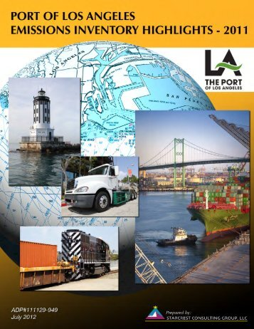 New data - Port of Los Angeles