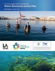Water Resources Action Plan - The Port of Los Angeles