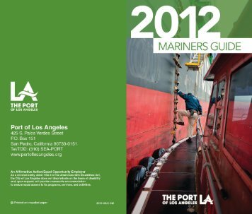 Mariner's Guide - The Port of Los Angeles