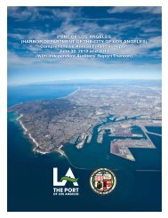 FY 2011-12 - The Port of Los Angeles