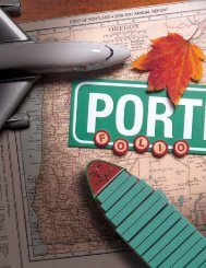 Accountability - the Port of Portland