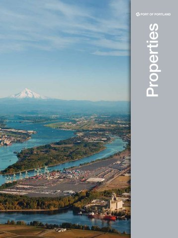 Properties Brochure - the Port of Portland