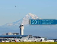 Noise Management Annual Report 2011 - the Port of Portland