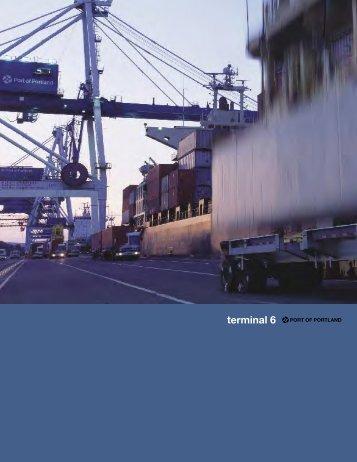 terminal 6 - the Port of Portland