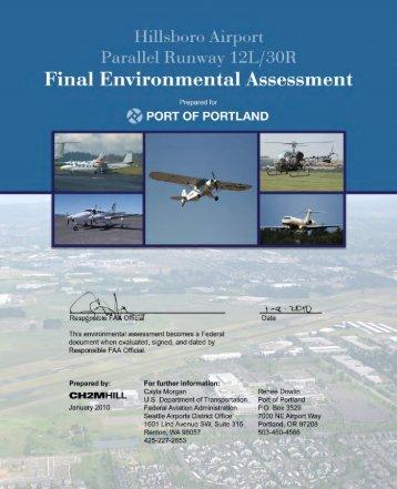 Hillsboro Airport Parallel Runway Final Environmental Assessment