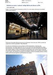 Artistas se unem e 'salvam' antiga fábrica de ... - Porto Maravilha