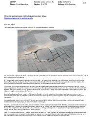 Clique aqui para ver a notícia no site - Porto Maravilha