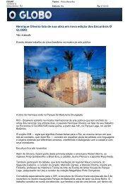 Henrique Oliveira fala de sua obra em nova ... - Porto Maravilha