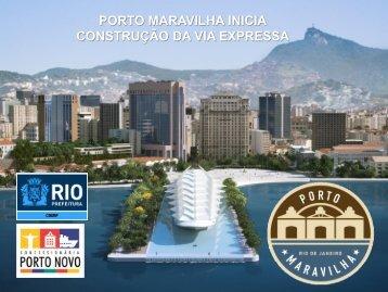 poço de serviço - Porto Maravilha