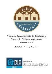 Projeto de Gerenciamento de Resíduos da ... - Porto Maravilha