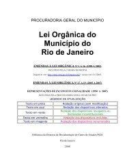 Lei Orgânica do Município do - Porto Maravilha