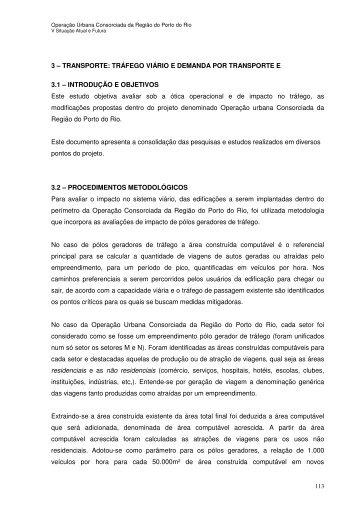 Demanda de Transporte e Trafego Viario.pdf - Porto Maravilha
