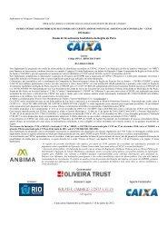 Ofertante: Fundo de Investimento Imobiliário da ... - Porto Maravilha