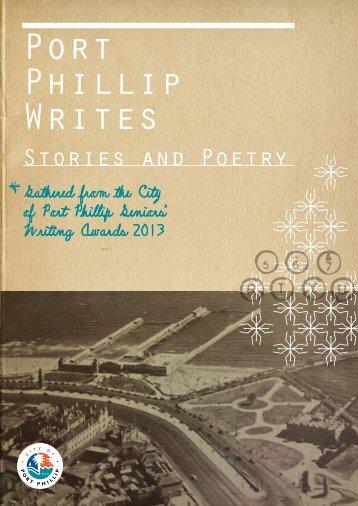 """Port Phillip Writes"" Writing Awards - City of Port Phillip"