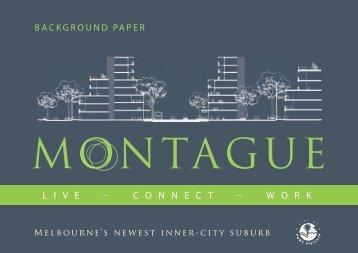 Montague Background_Paper.pdf - City of Port Phillip