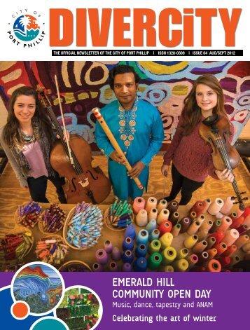 EmErald Hill community opEn day - City of Port Phillip