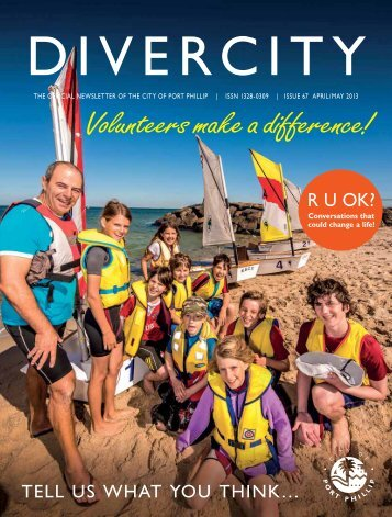 Volunteers make a difference! - City of Port Phillip