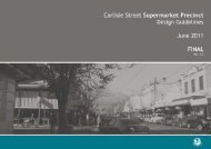 Carlisle Street Supermarket Precinct Design ... - City of Port Phillip