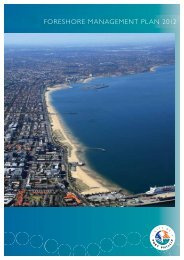 FORESHORE MANAGEMENT PLAN 2012 - City of Port Phillip
