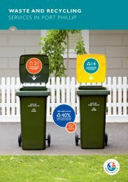 WASTE AND RECYCLING SERVICES IN PORT ... - City of Port Phillip