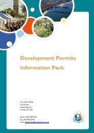 Development Permits Information Pack - City of Port Phillip