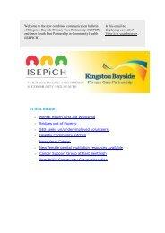 ISEPICH & KBPCP Bulletin 20 June 2013 - City of Port Phillip